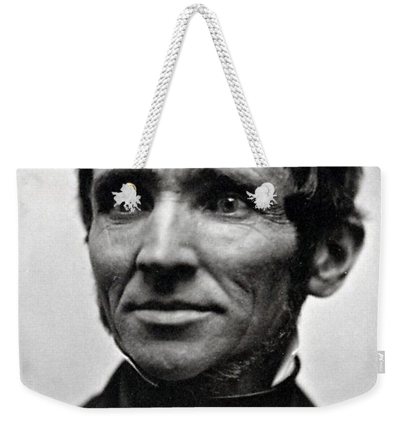Science Weekender Tote Bag featuring the photograph Charles Goodyear, American Inventor by Science Source