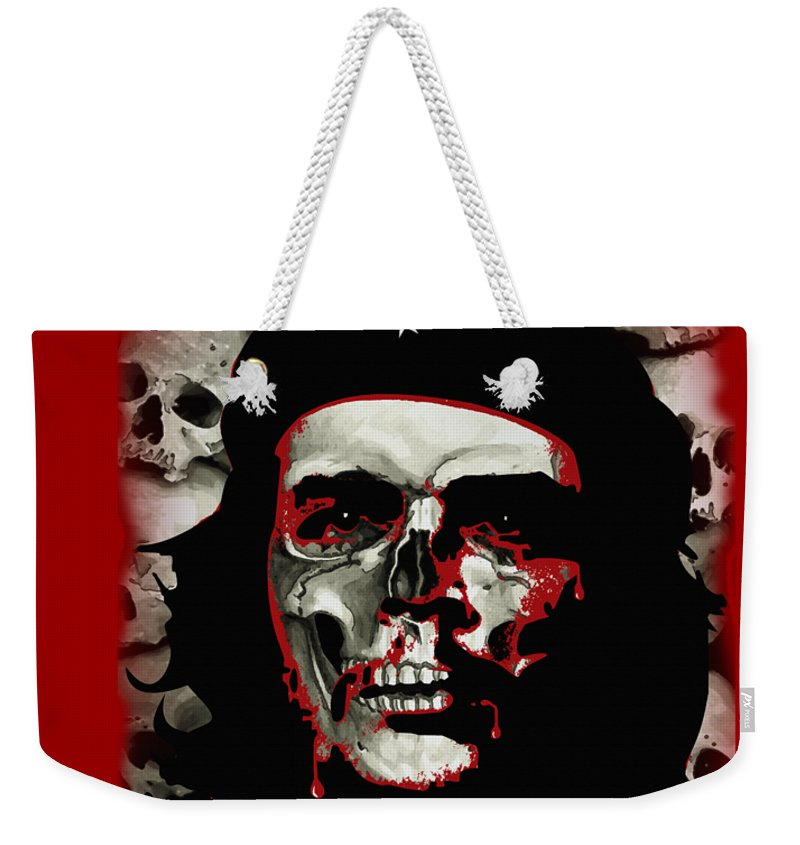 Canvas Prints Weekender Tote Bag featuring the digital art Che by Joseph Juvenal
