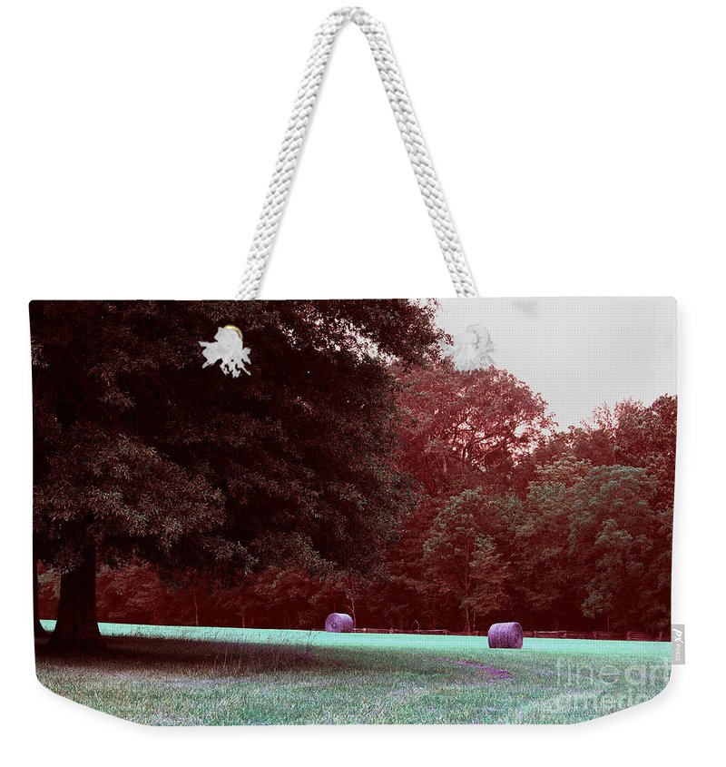 Agriculture Weekender Tote Bag featuring the photograph Chickamauga No 7 by Alan Look