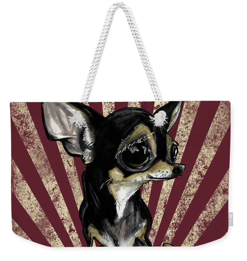 Chihuahua Weekender Tote Bags