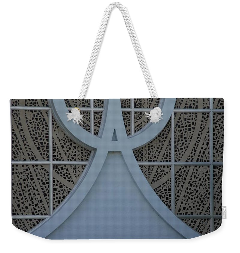 Church Weekender Tote Bag featuring the photograph Circle T Church by Rob Hans