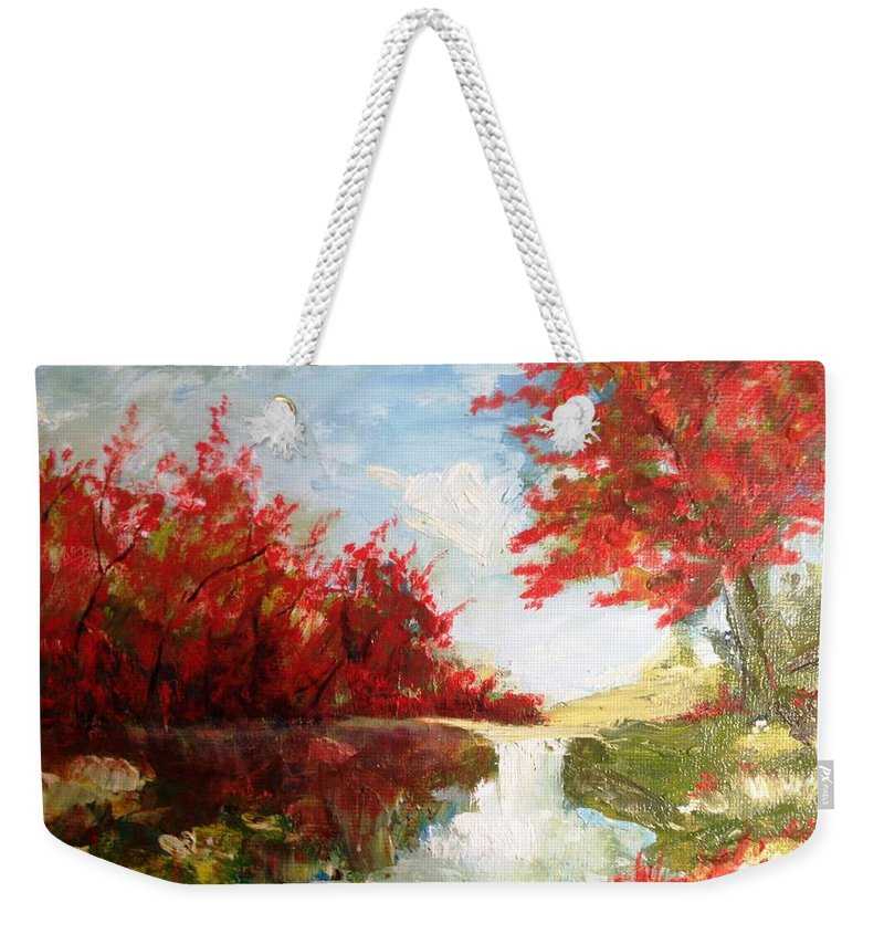 Frederick Weekender Tote Bag featuring the photograph Colorado Springs by Lord Frederick Lyle Morris - Disabled Veteran