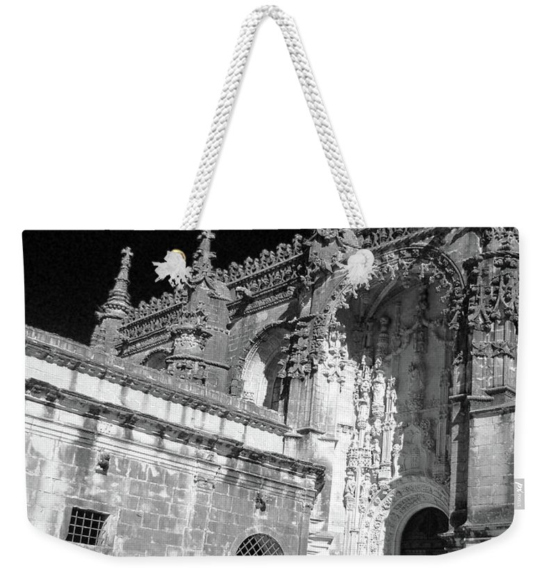 Monument Weekender Tote Bag featuring the photograph Convent Of Christ by Gaspar Avila
