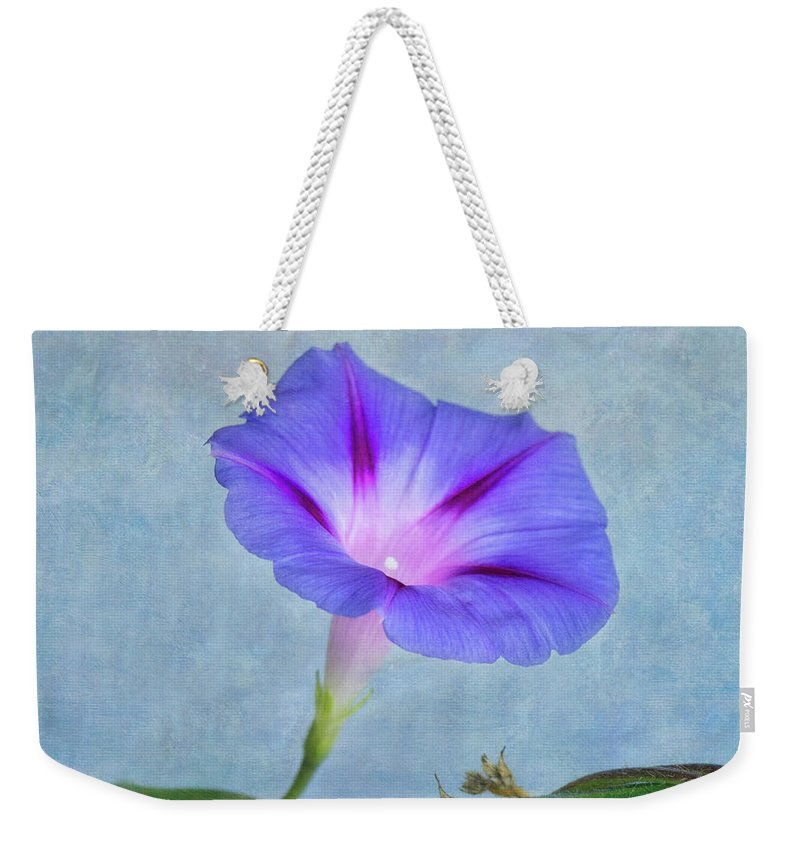 Flower Weekender Tote Bag featuring the photograph Delicate by Claudia Kuhn