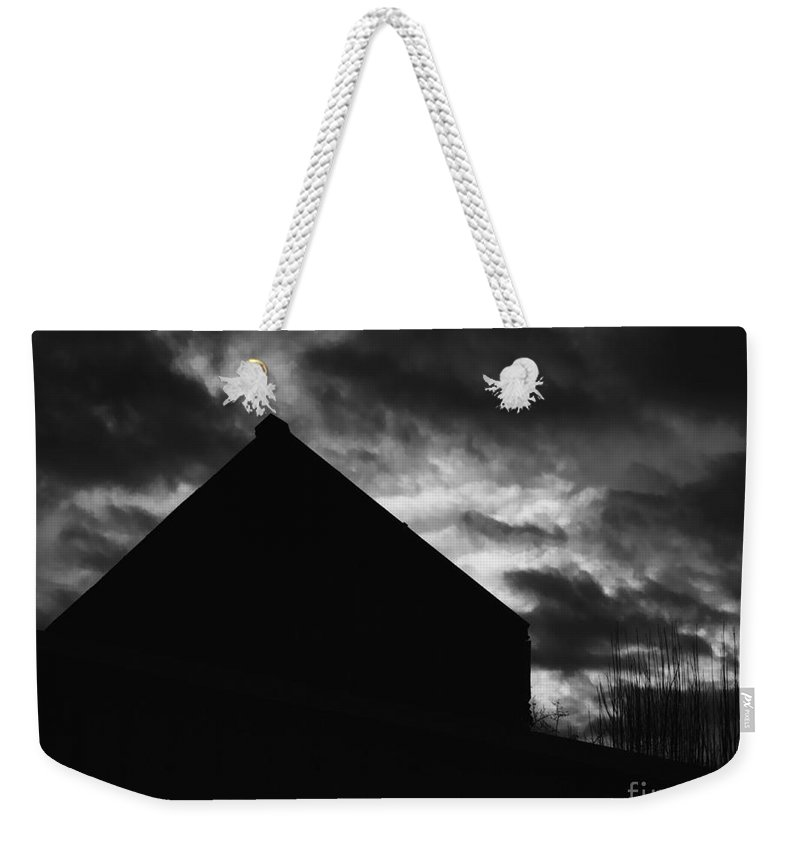 Black And White Weekender Tote Bag featuring the photograph Early Morning by Peter Piatt