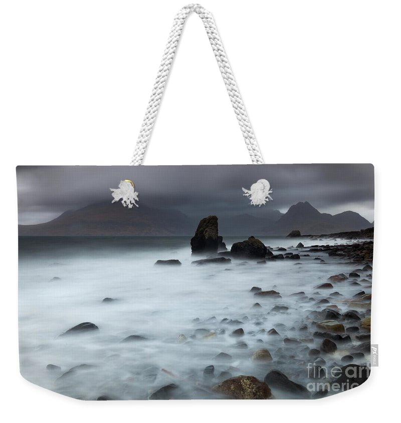 Beach Weekender Tote Bag featuring the photograph Elgol Beach by Karl Thompson