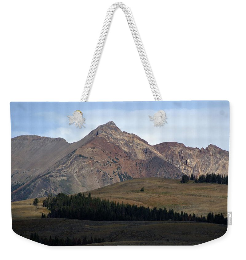 Lake Weekender Tote Bag featuring the photograph Emerald Lake by Marty Koch