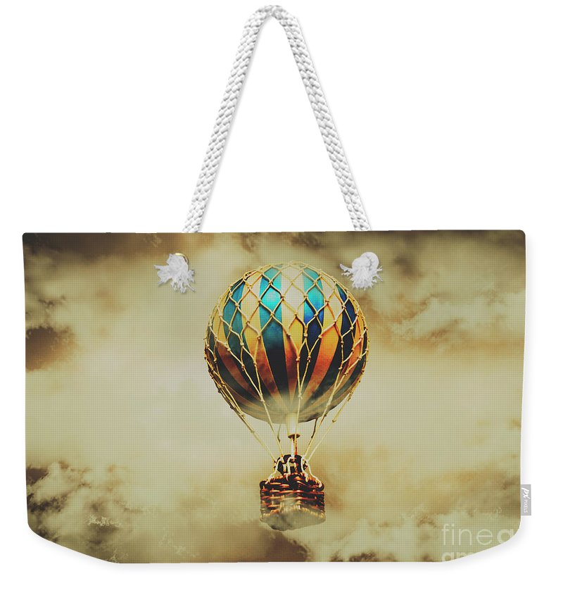Vintage Weekender Tote Bag featuring the photograph Fantasy Flights by Jorgo Photography - Wall Art Gallery