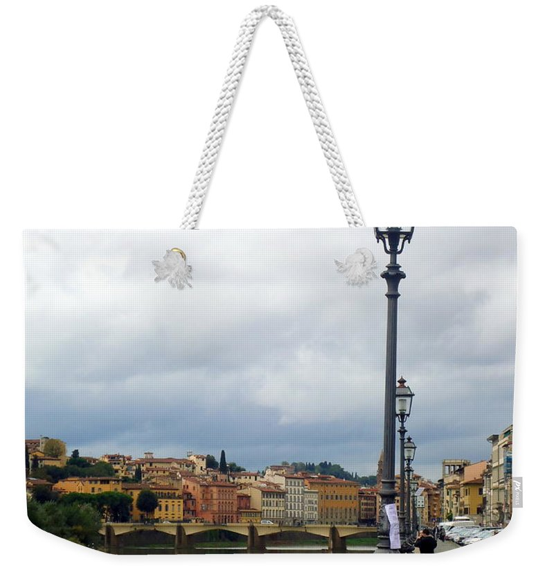 Florence Weekender Tote Bag featuring the photograph Florence by Helena Wierzbicki