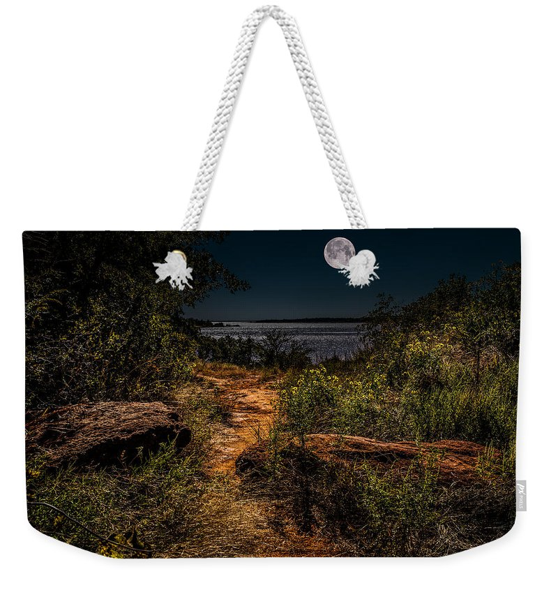 Horizontal Weekender Tote Bag featuring the photograph Follow The Path by Doug Long