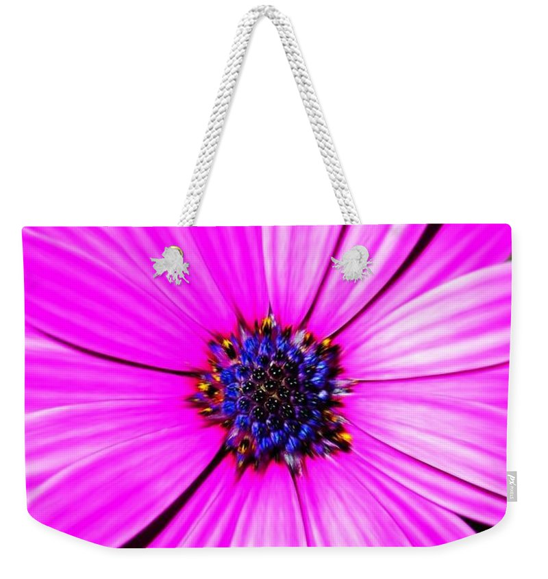 Flower Weekender Tote Bag featuring the photograph For You ... by Juergen Weiss