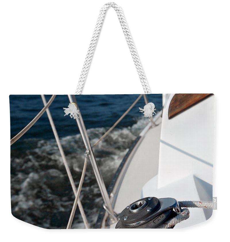 Lawrence Weekender Tote Bag featuring the photograph Freedom by Lawrence Boothby