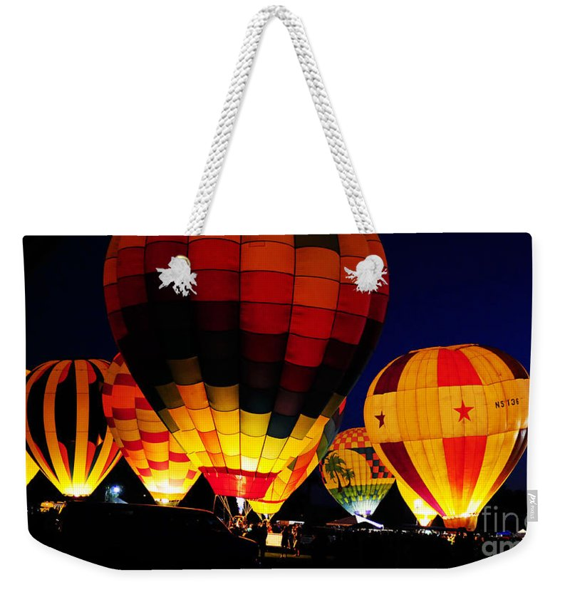Clay Weekender Tote Bag featuring the photograph Glowing by Clayton Bruster