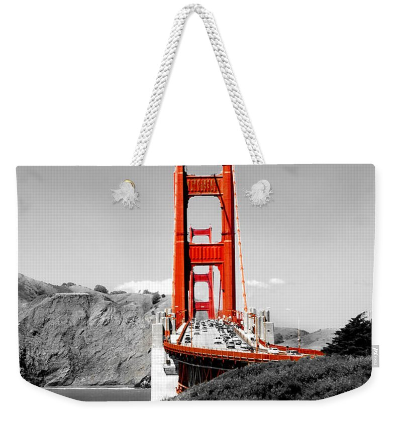 Golden Gate Bridge Weekender Tote Bags
