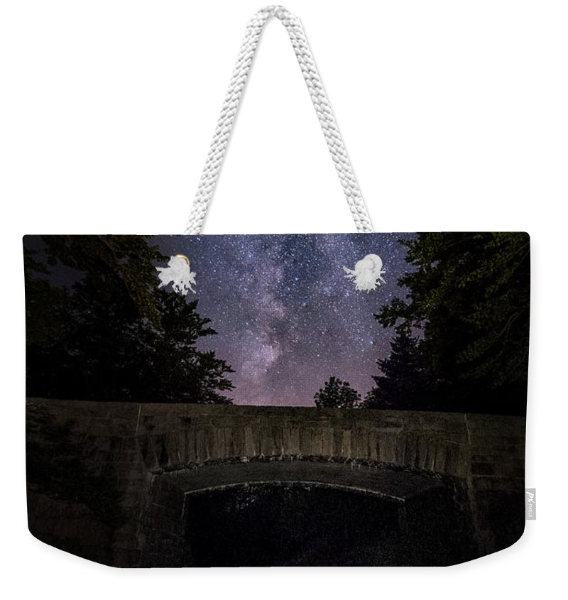 Maine Weekender Tote Bag featuring the photograph Goodnight Acadia by Robert Fawcett