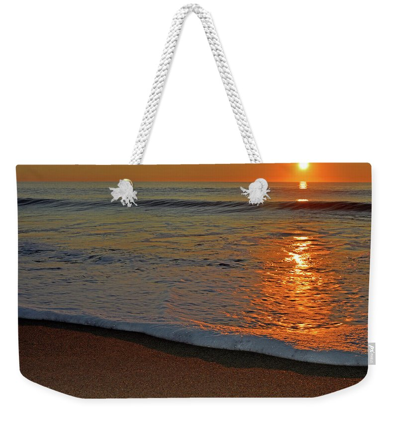 Sun Rays Weekender Tote Bag featuring the photograph Guiding Light by Dianne Cowen