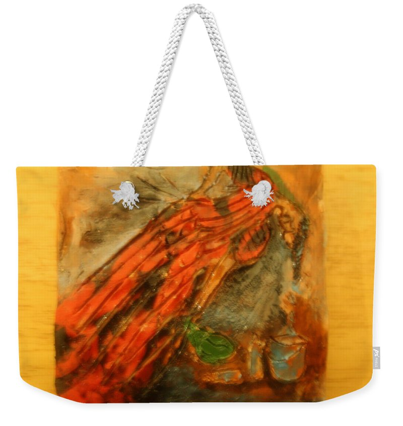 Jesus Weekender Tote Bag featuring the photograph Hair Day - Tile by Gloria Ssali