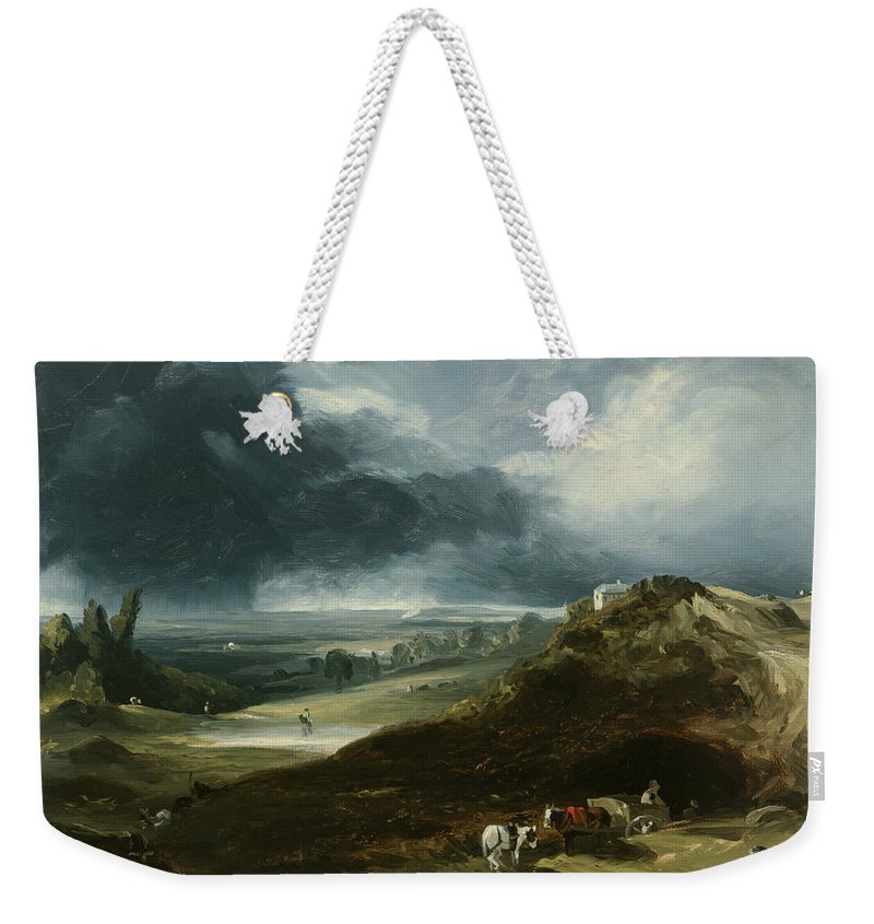 Hampstead Heath Weekender Tote Bag featuring the painting Hampstead Heath by Sanford