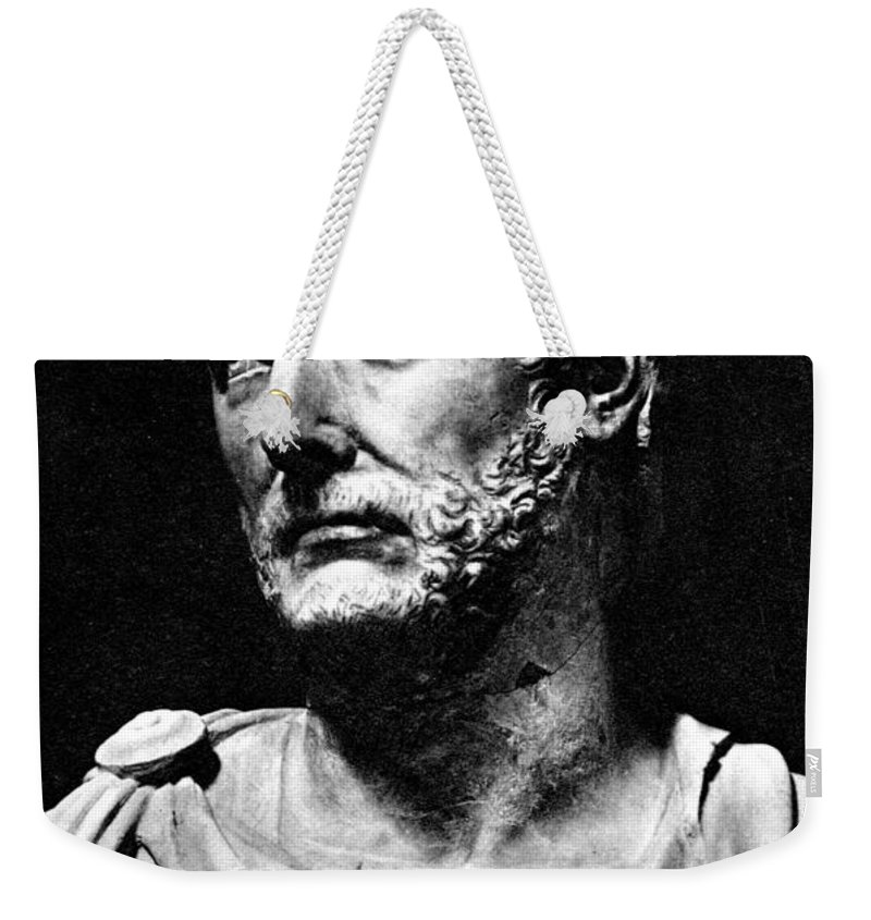 History Weekender Tote Bag featuring the photograph Hannibal, Carthaginian Military by Photo Researchers
