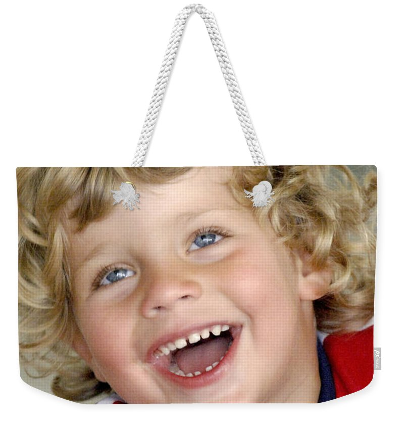 Happy Contest Weekender Tote Bag featuring the photograph Happy Contest 9 by Jill Reger
