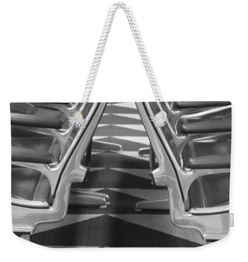 Seat Weekender Tote Bag featuring the photograph Have A Seat by Lauri Novak