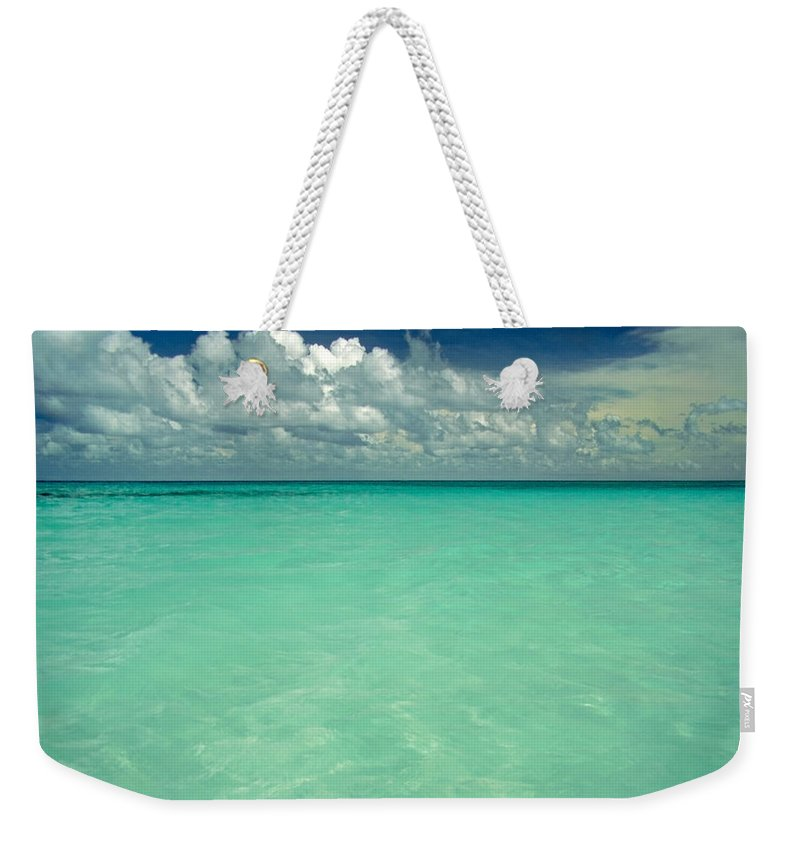Belize Weekender Tote Bag featuring the photograph Heaven by Skip Hunt