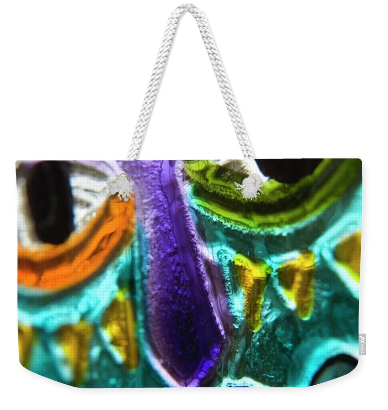 Glass Weekender Tote Bag featuring the photograph Here's Looking At You by Jerry McElroy
