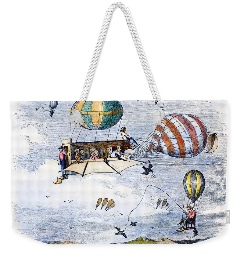 1880 Weekender Tote Bag featuring the photograph Highway Of The Future by Granger