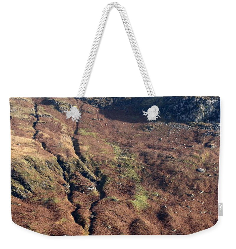 Scotland Weekender Tote Bag featuring the photograph Home by Maria Joy