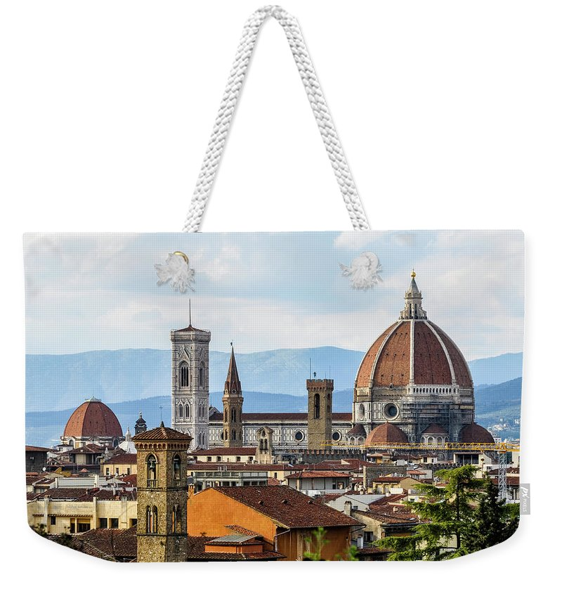Tuscany Weekender Tote Bag featuring the photograph Il Duomo In Florence by Dutourdumonde Photography