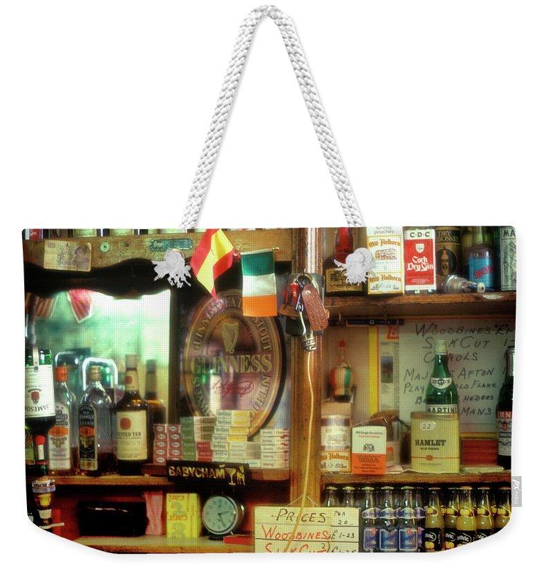 Europe Weekender Tote Bag featuring the photograph Irish Pub by John Greim
