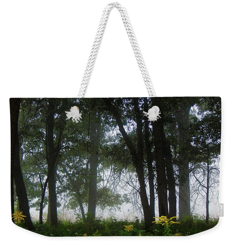 Summer Weekender Tote Bag featuring the photograph It Just Is by Wild Thing