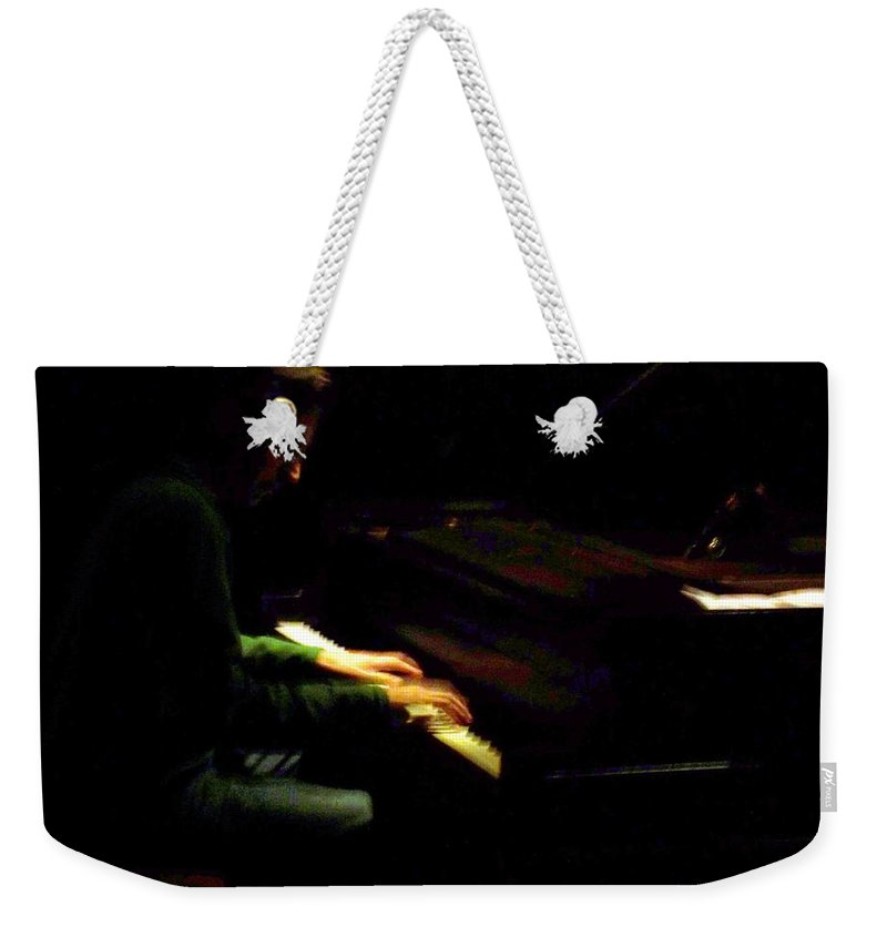 Jazz Weekender Tote Bag featuring the photograph Jazz Estate 7 by Anita Burgermeister