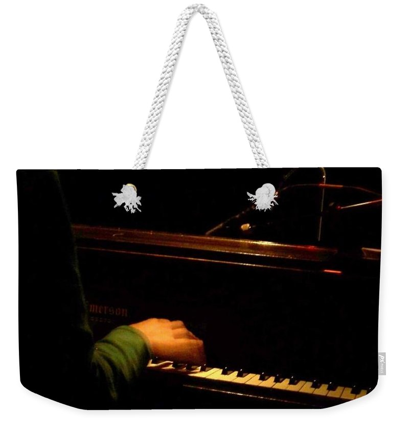 Jazz Weekender Tote Bag featuring the photograph Jazz Estate 8 by Anita Burgermeister