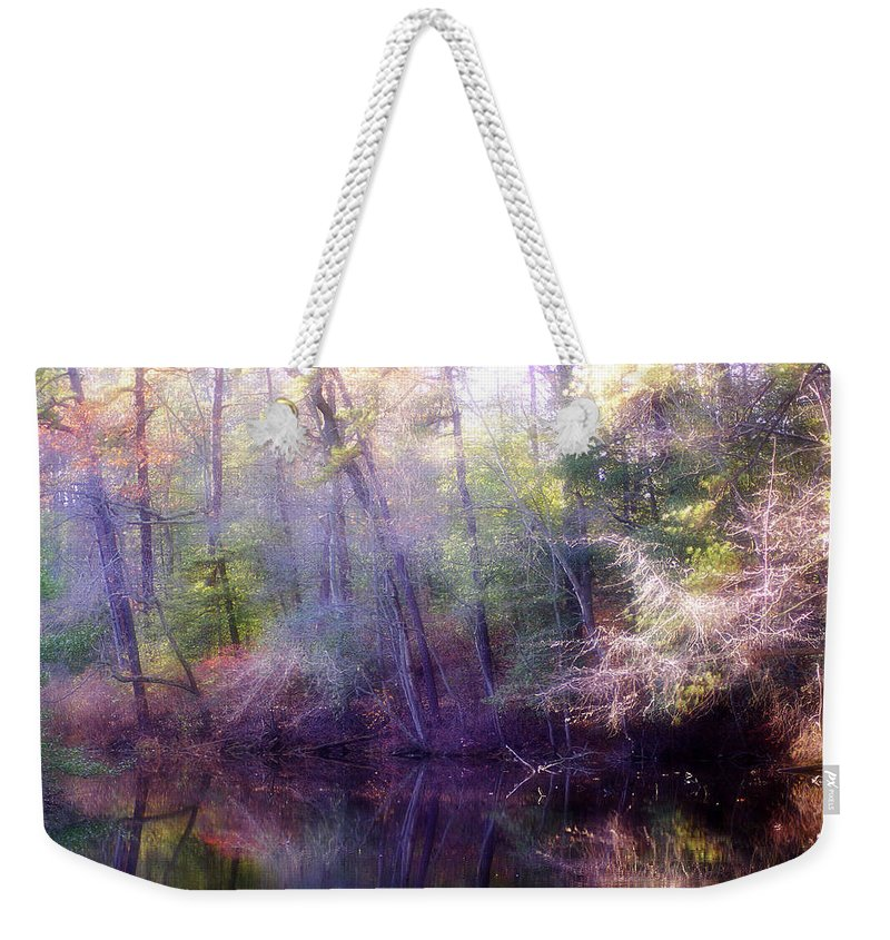 2d Weekender Tote Bag featuring the photograph Lake Waterford by Brian Wallace