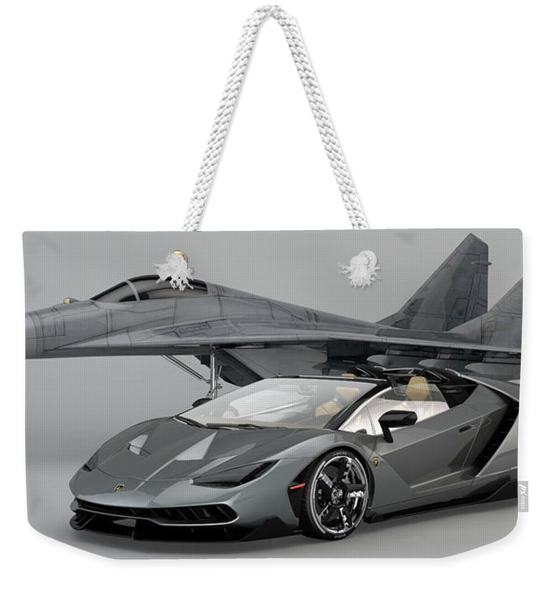 lamborghini centenario roadster weekender tote bag for salelouis