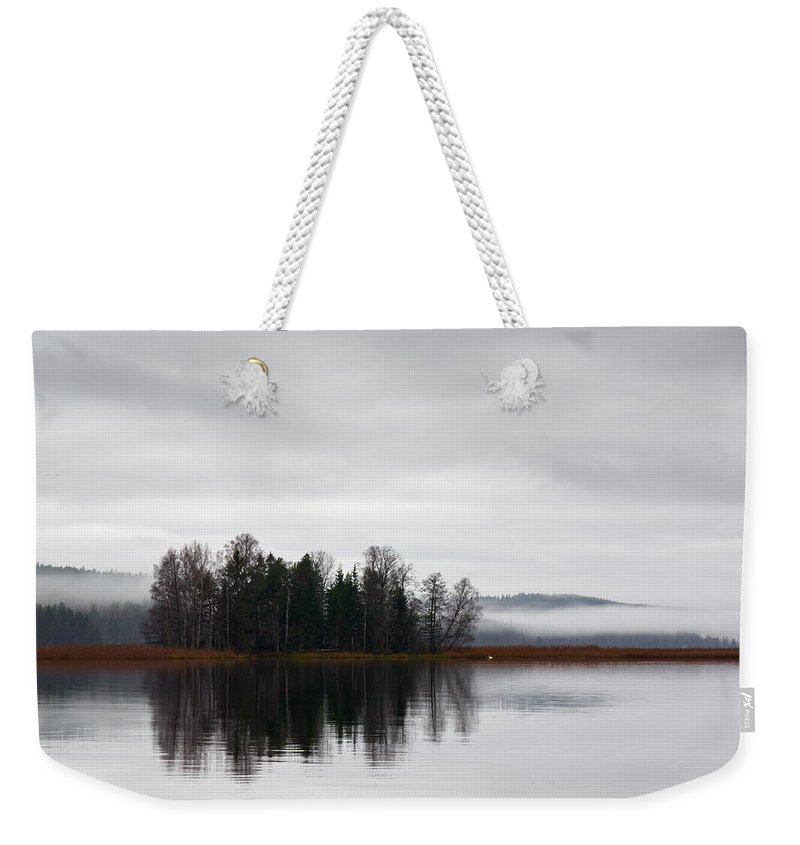Finland Weekender Tote Bag featuring the photograph Late Fall Morning by Jouko Lehto