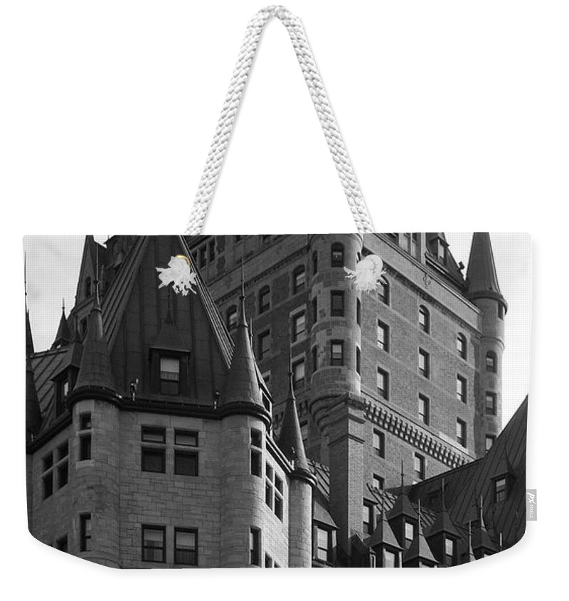 North America Weekender Tote Bag featuring the photograph Le Chateau by Juergen Weiss