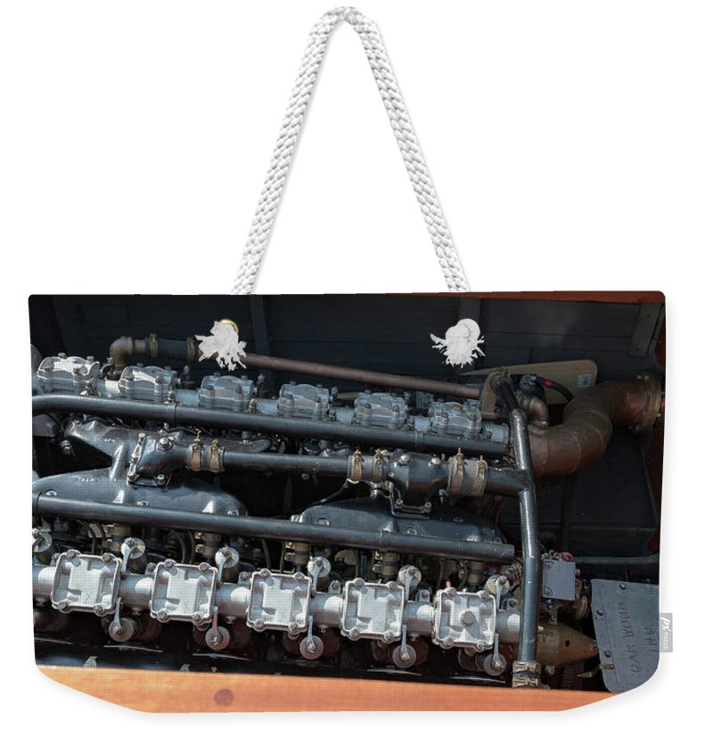 H2omark Weekender Tote Bag featuring the photograph Liberty by Steven Lapkin