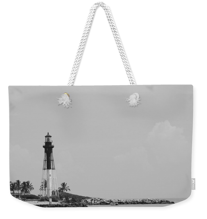 Landscape Weekender Tote Bag featuring the photograph Lighthouse Point by Rob Hans
