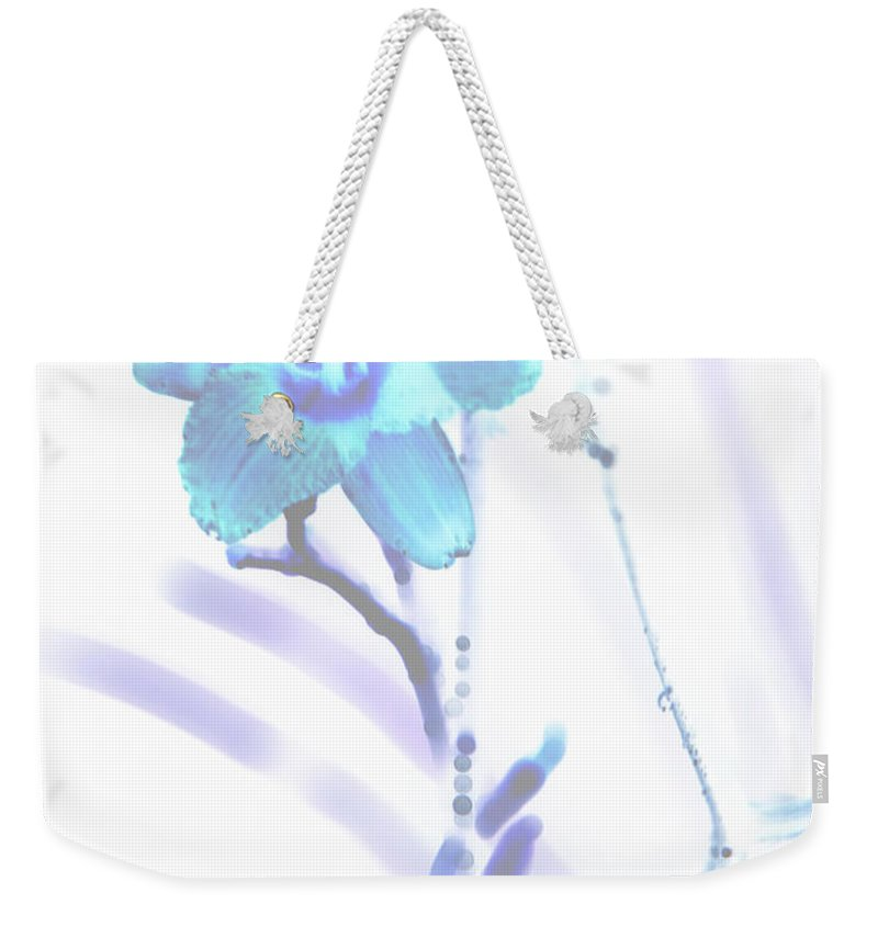 Lily Weekender Tote Bag featuring the photograph Lily by Amanda Barcon