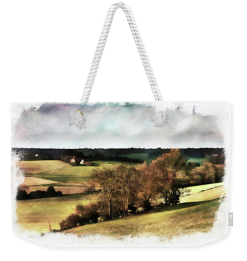 Loire Weekender Tote Bag featuring the photograph Loire Valley by Hugh Smith