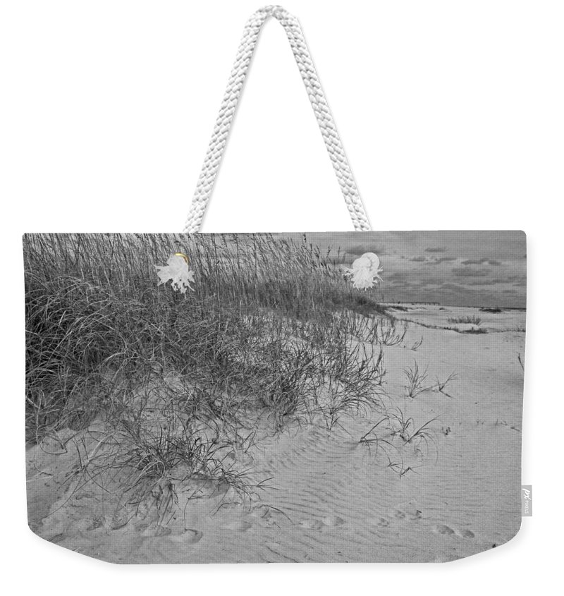 Beach Weekender Tote Bag featuring the photograph Lost Wish by Michiale Schneider
