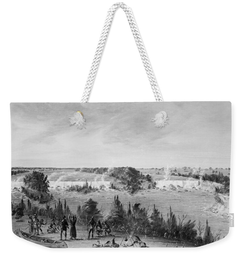 1680 Weekender Tote Bag featuring the photograph Louis Hennepin (1640-1701) by Granger