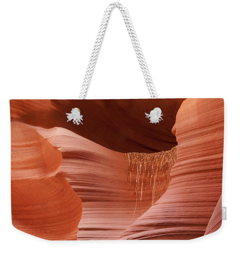 Slot Weekender Tote Bag featuring the photograph Lower Antelope Canyon 2 7934 by Bob Neiman