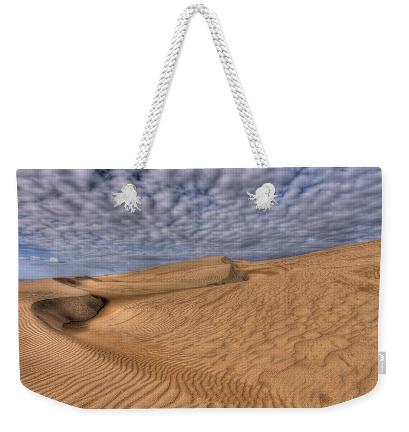 Sand Weekender Tote Bag featuring the photograph Magic Of The Dunes by Beth Sargent