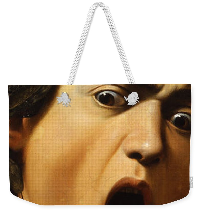 Gorgon Weekender Tote Bags