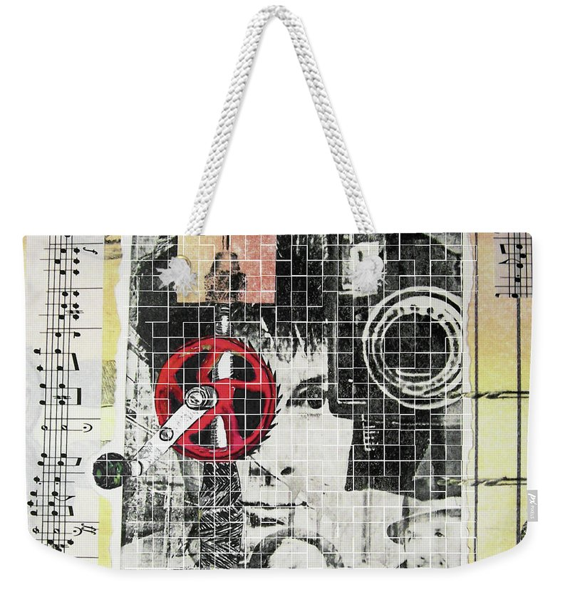 Weekender Tote Bag featuring the digital art Memories Of Them by Iris Posner