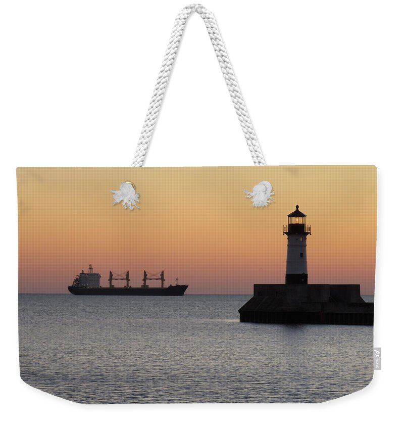 Sunrise Weekender Tote Bag featuring the photograph Morning Delight by Alison Gimpel