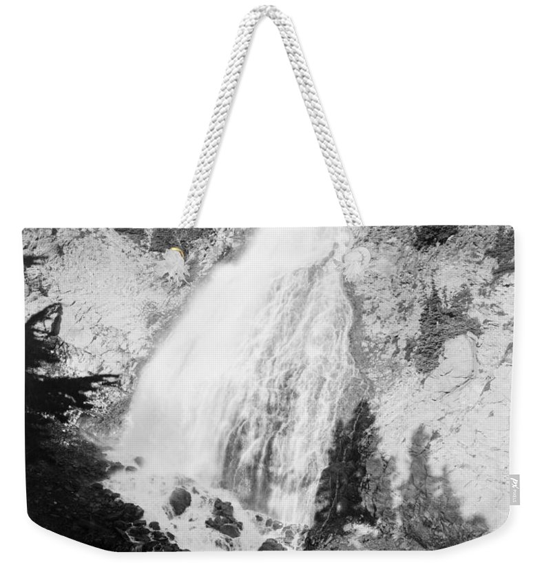 1932 Weekender Tote Bag featuring the photograph Mount Rainier National Park by Granger